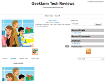 Tablet Preview of geekfarm.net